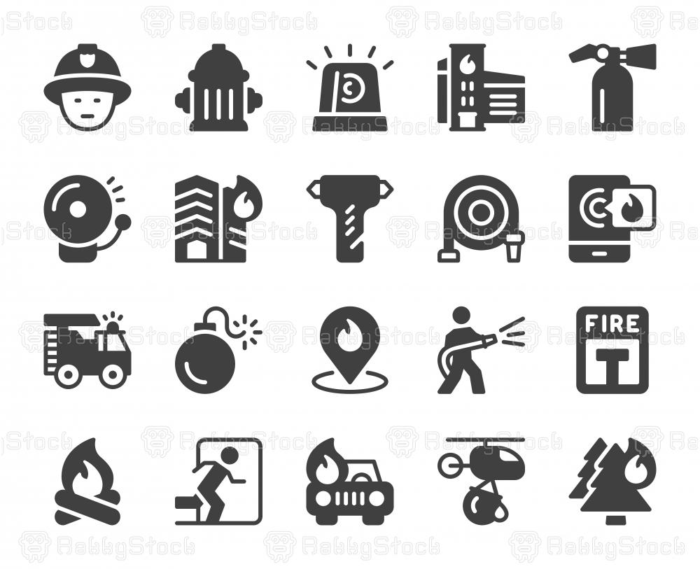 Fire Brigade - Icons