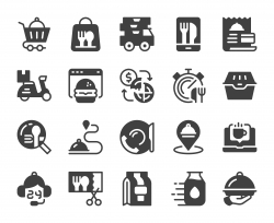 Food Delivery - Icons