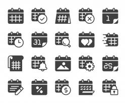 Calendar - Icons
