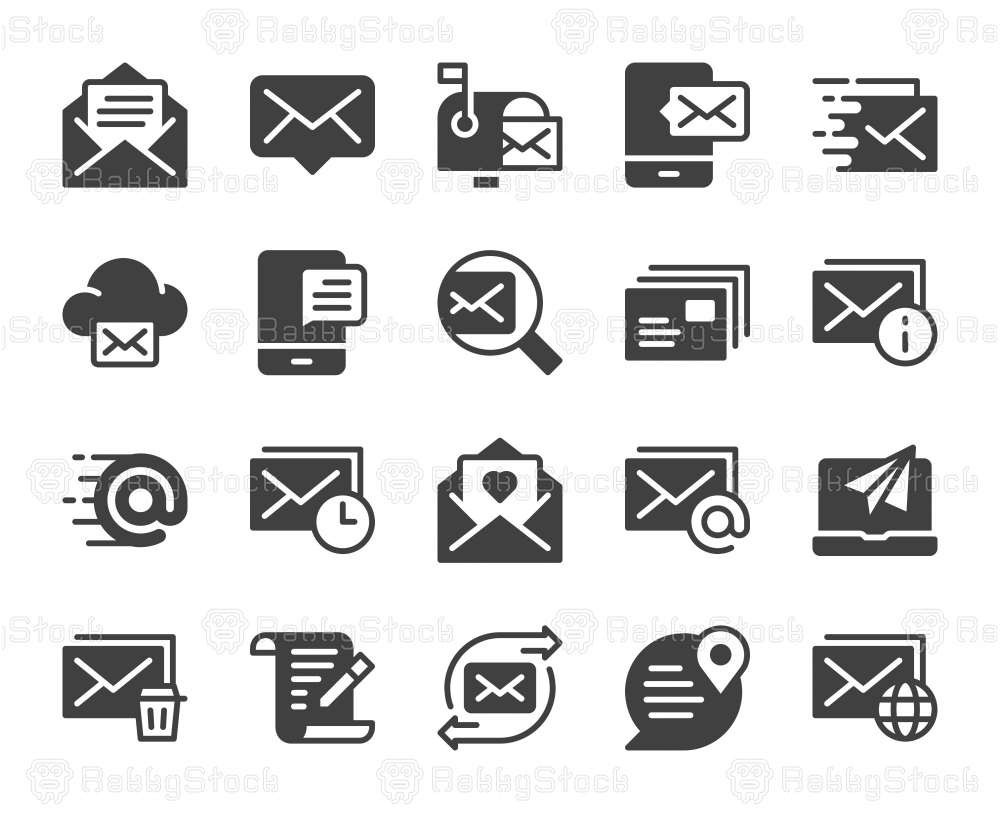 Mail and Messaging - Icons