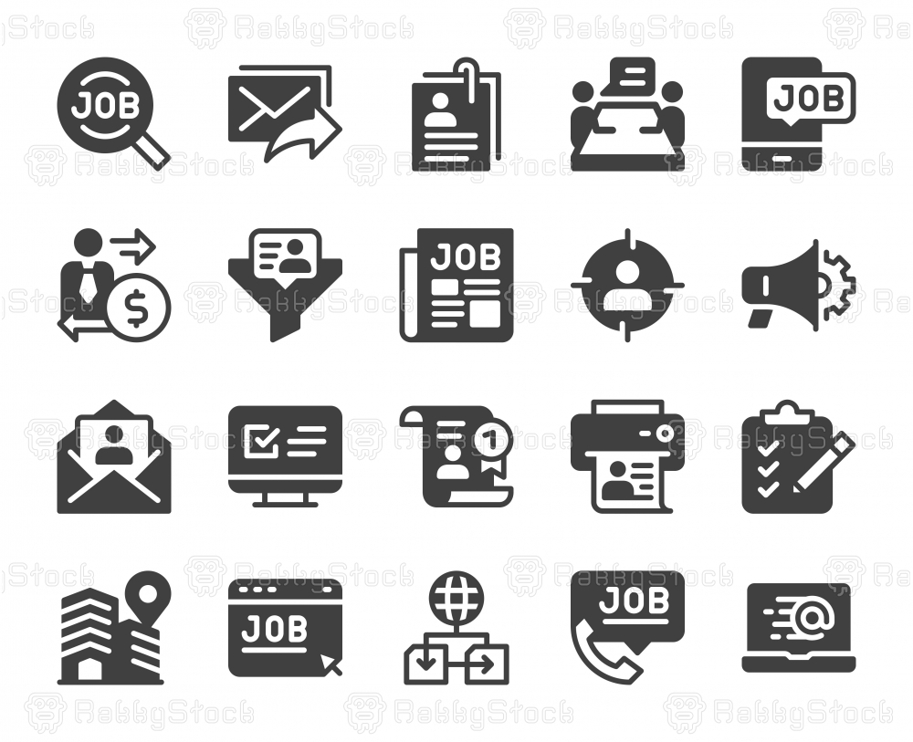 Job Search - Icons