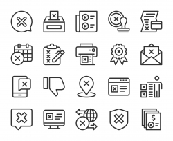 Rejection - Line Icons