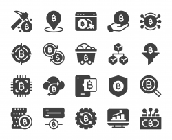 Cryptocurrency - Icons