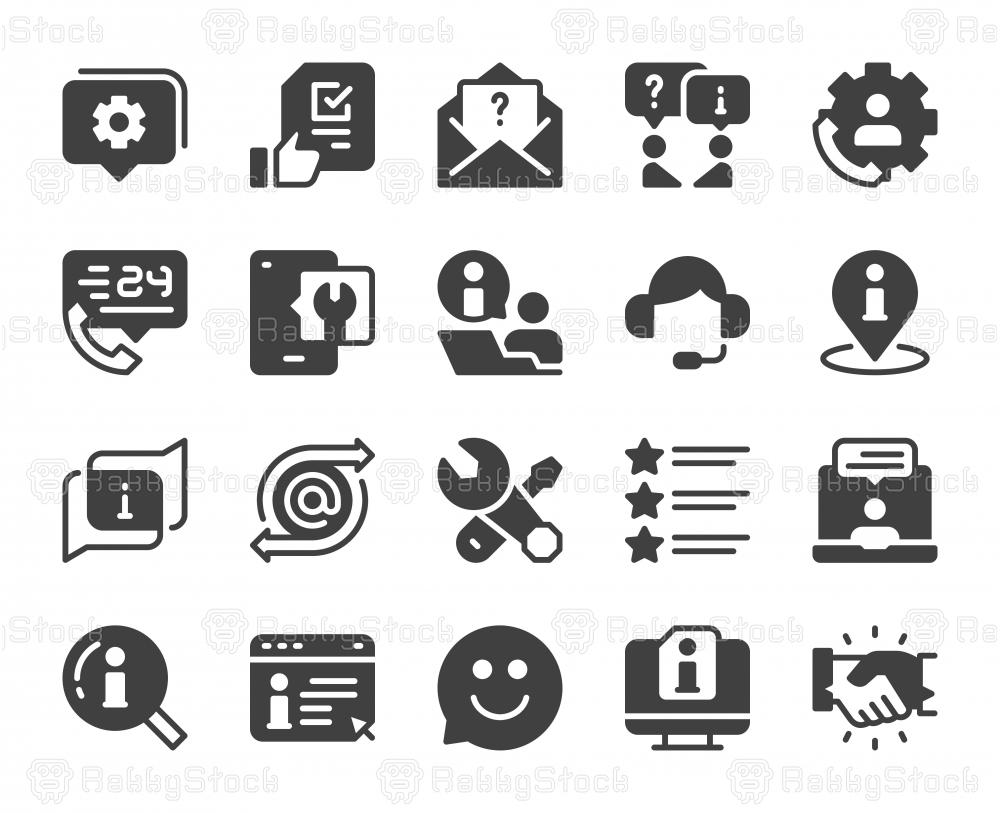 Customer Service - Icons