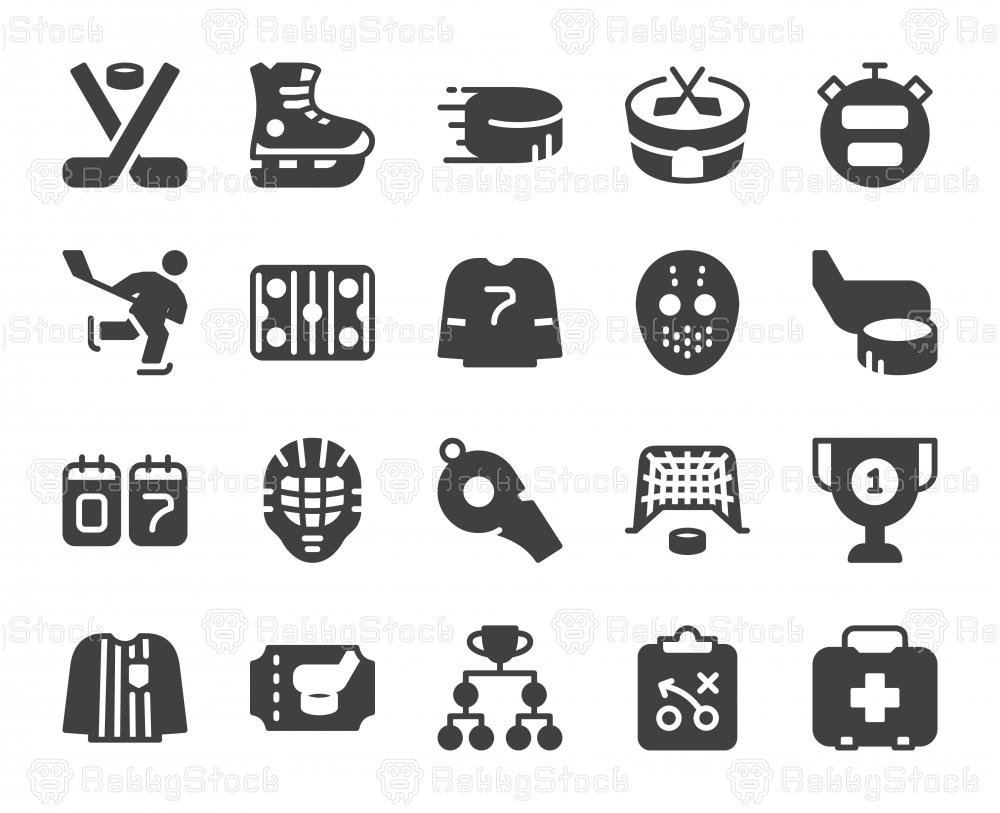 Ice Hockey - Icons