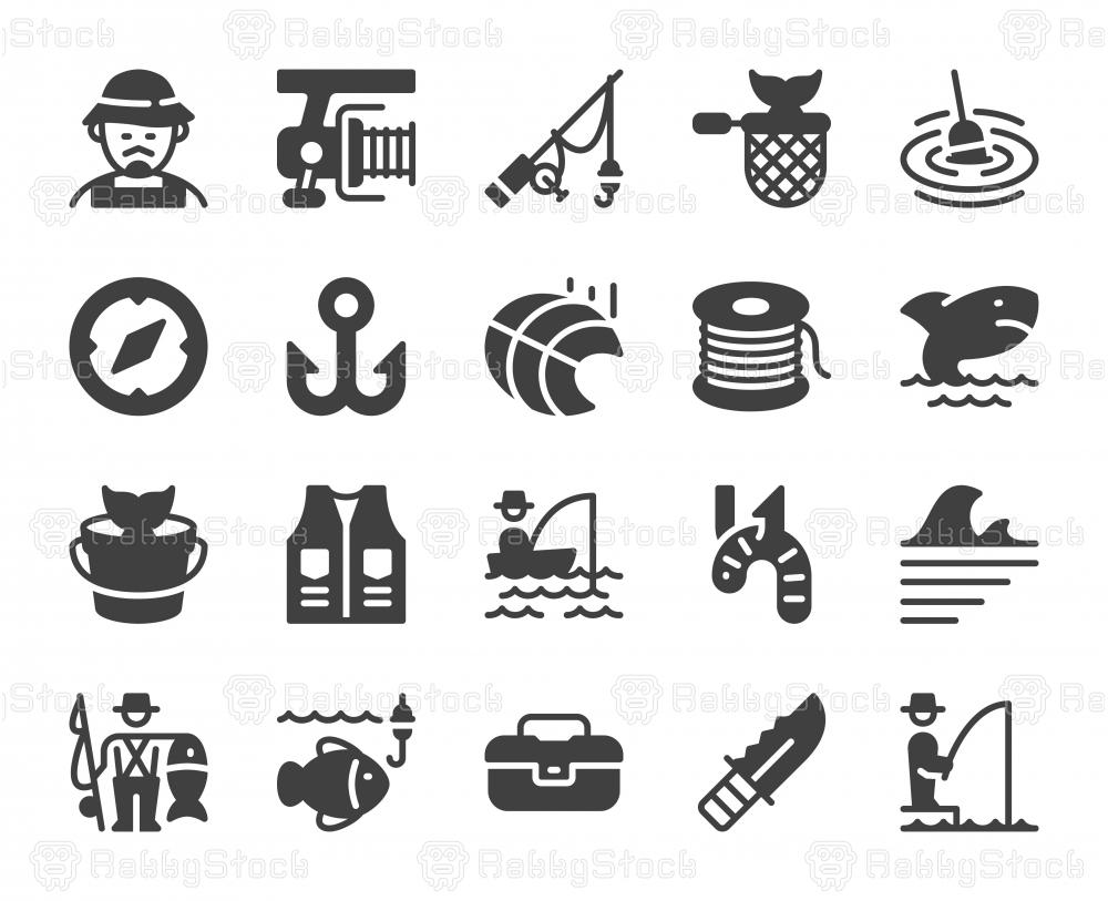 Fishing - Icons