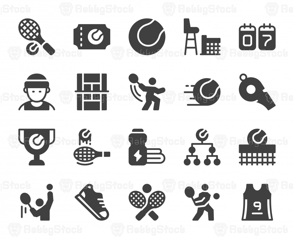 Tennis - Icons
