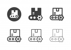 Production Line Icons - Multi Series