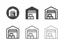 Warehouse Icons - Multi Series