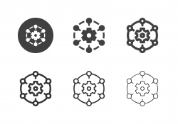 Production Network Icons - Multi Series