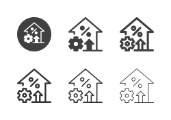 Industrial Growth Icons - Multi Series