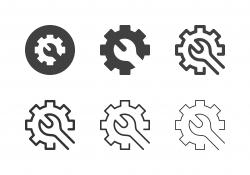 Machine Maintenance Icons - Multi Series