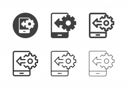 Mobile Manufactured Setting Icons - Multi Series