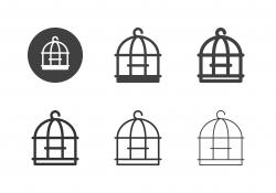 Bird Cage Icons - Multi Series