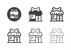 Pet Shop Icons - Multi Series