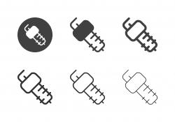 Spark Plug Icons - Multi Series