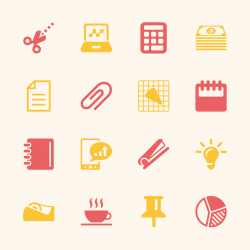 Office and Business Icons - Color Series | EPS10