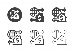 Global House Business Icons - Multi Series