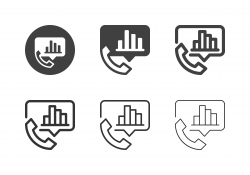 Call Report Icons - Multi Series