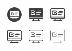 Monitor List Icons - Multi Series