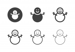 Snowman Icons - Multi Series