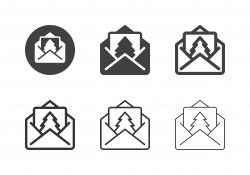 Christmas Card Icons - Multi Series