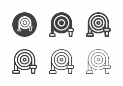 Fire Hose Icons - Multi Series