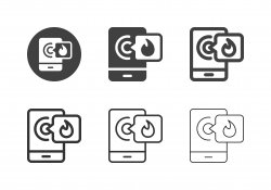 Fire Emergency Calling Icons - Multi Series