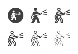 Fireman Icons - Multi Series