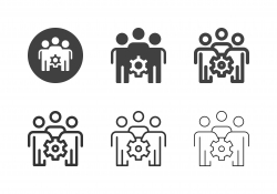 Team Management Icons - Multi Series