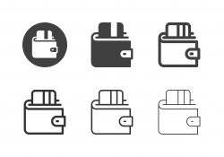Digital Wallet Icons - Multi Series