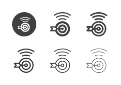 Online Target Icons - Multi Series