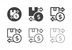 Cash on Delivery Icons - Multi Series