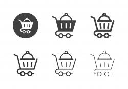 Food Cart Icons - Multi Series
