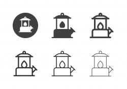 Lantern Lamp Icons - Multi Series