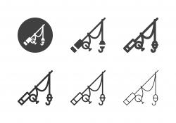 Fishing Rod Icons - Multi Series