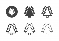 Pine Forest Icons - Multi Series