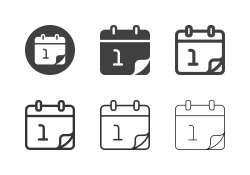 New Year Icons - Multi Series