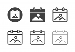 Vacation Icons - Multi Series