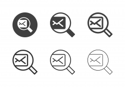 Searching Mail Icons - Multi Series