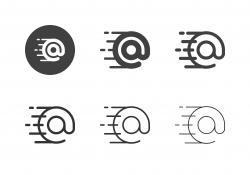 Fastest E-Mail Icons - Multi Series