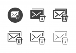 Junk Mail Icons - Multi Series