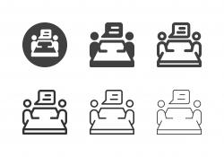 Job Interview Icons - Multi Series