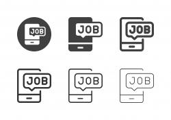 Job Notification Icons - Multi Series