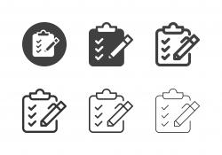 Checklist Board Icons - Multi Series