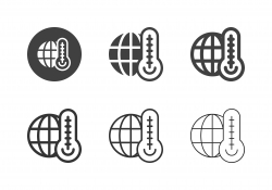 Climate Change Icons - Multi Series