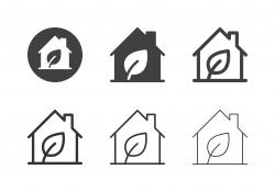 Eco House Icons - Multi Series
