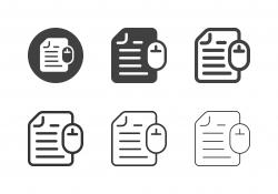 Online Sheet Icons - Multi Series