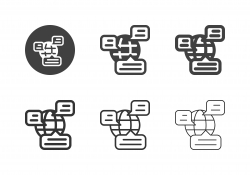 Global Messaging Icons - Multi Series