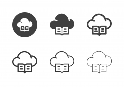 Cloud Library Icons - Multi Series